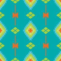 Mexikanisches folkloristisches Traceryetextilnahtloses Muster