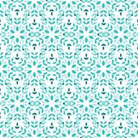 Nahtloses Muster der Blume. vektor