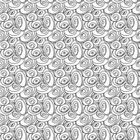 Seamless stilfullt handgjorda mönster.