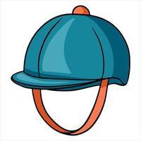 Outfit Fahrer Kopfschutz Jaquettes Helm vektor