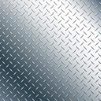 Chrome Diamond Plate Realistische Vektorgrafik vektor
