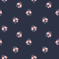 Abstrakte nahtlose mit Blumenmuster. Vektordesign für verschiedene Surfases.