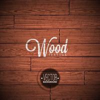 Vektor trästruktur bakgrundsdesign. Naturlig mörk vintage trä illustration.