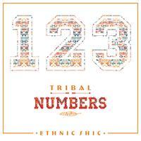 Stammes-ethnische Zahlen für T-Shirts, Poster, Karten und andere Zwecke.