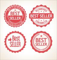 Bästsäljare retro vintage emblem och etiketter samling