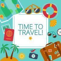 Konzepte und Banner der Reise, Sommer
