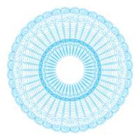 Guilloche-Musterrosette für Spielgeld oder andere Sicherheitspapiere