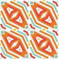Nahtlose geometrische Raute vektor