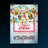 Festa Junina Party Flyer Abbildung