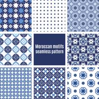 Portugiesische Azulejos-Reihe von Mustern