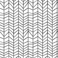 Nahtlose stilvolle Hand gezeichnete Muster.