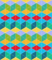 Geometrisk sömlös mönster