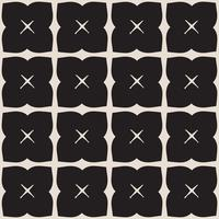 Universal svart och vitt sömlös mönsterplattor.