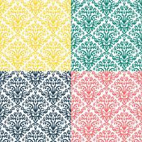 Victorian prydnad, sömlöst mönster