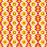 Bunte ethnische dekorative Muster Mexikaner, nahtloses Muster