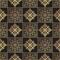 Weinleseluxusgoldhintergrund Art Deco