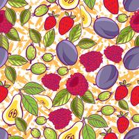 Stammes- und süße Beeren nahtlos
