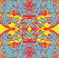 Psychedelischer Hintergrund des abstrakten nahtlosen Musters. vektor