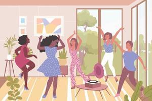 Frauen tanzen Illustration vektor