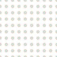 Bunte nahtlose Blumenmuster vektor