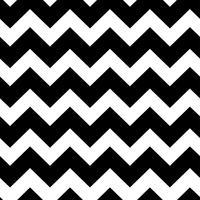 chevrons svartvitt sömlöst mönster
