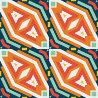 Seamless vektor geometrisk rhombus