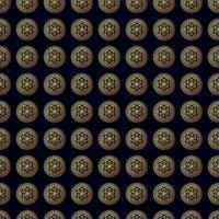 Goldblume nahtloses Muster.
