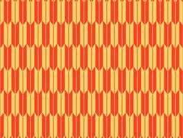 Nahtloses Muster Yagasuri, traditionelle japanische Ornamente vektor
