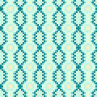 Färgglada etniska prydnadsmönster Mexikansk, Sömlös vektor