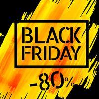 Black Friday-Verkaufsplakatdesign