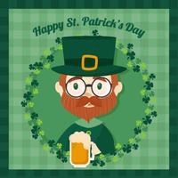 Vektor St Patrick's Day Bakgrund