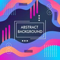 Bunter abstrakter Hintergrund-Vektor vektor
