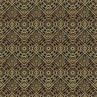 Vintage lyxig guld bakgrund art deco vektor