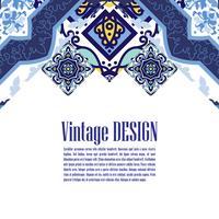 Banner azulejos i portugisiska plattor stil för affärer. vektor