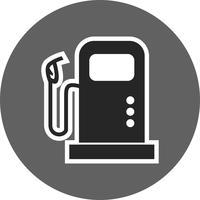 bränsle station vektorikonen
