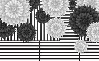 Försäljning Blommor Vektor bakgrund