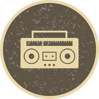 ikon för ljudband vektor