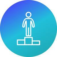 Succesvektorns ikon