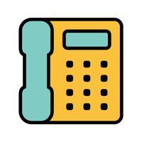 Telefon-Vektor-Symbol