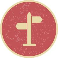 Wegbeschreibung Vektor Icon