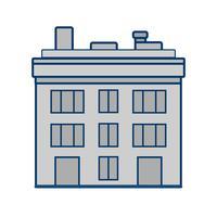 Gebäude-Vektor-Symbol