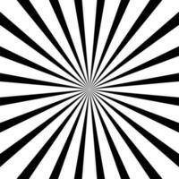 Schwarzer Sunburst-Hintergrund vektor