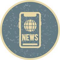 Vektor-News-Symbol