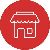 vektor butik ikon
