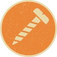 Skruv vektor ikon