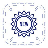 Vektor neue Ikone