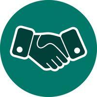 Handshake-Vektor-Symbol