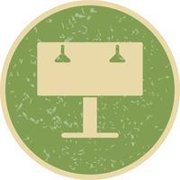 Anschlagtafel-Vektor-Symbol
