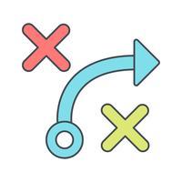 taktik vektorikonen vektor