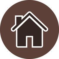 Haus Vektor Icon